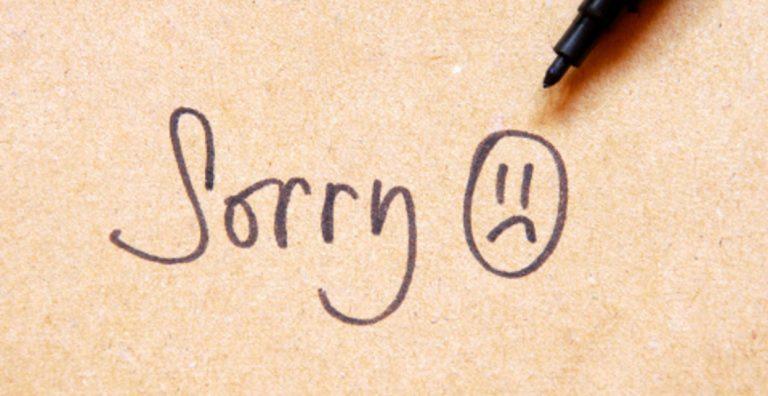"""""""Îmi pare rău"""". De ce ne este greu să ne cerem iertare"""