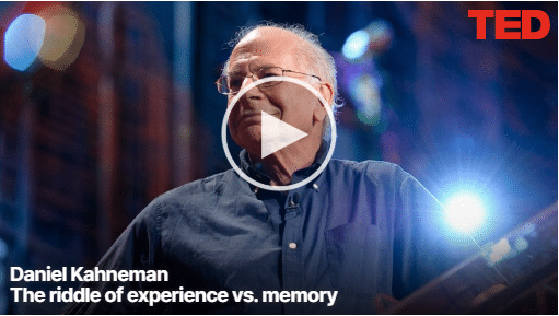 Daniel Kahneman - The riddle of experience vs memory2