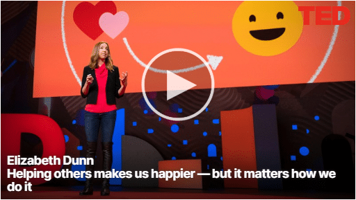 Elizabeth Dunn - Helping others makes us happier2