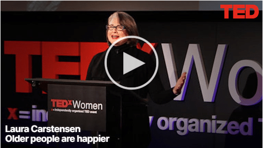 Laura Carstensen - Older people are happier2