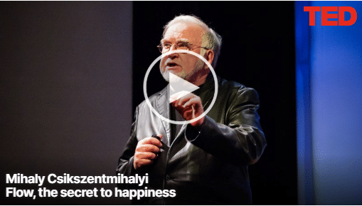 Mihaly Csikszentmihalyi - Flow, the secret to happiness2